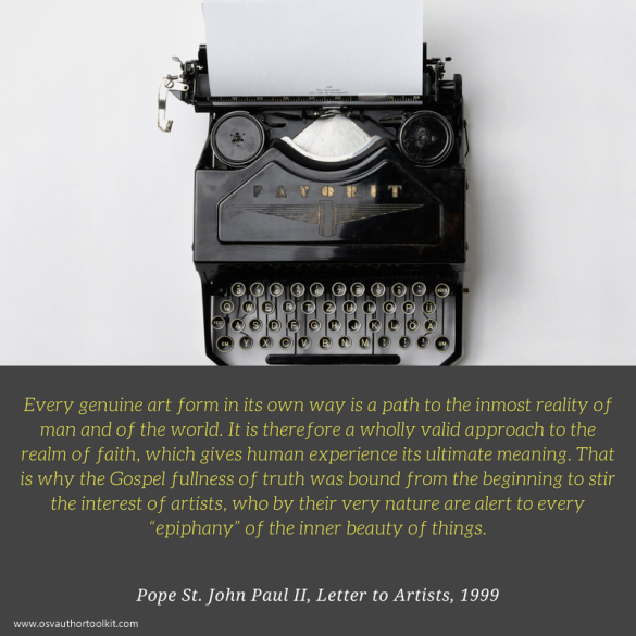 Pope St. John Paul II Letter to Artists