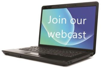 Webcast invitation